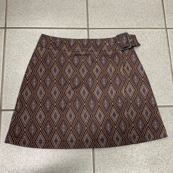 Vintage express wrap skirt with buckle